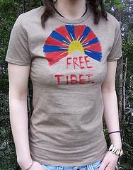 フリーチベットTシャツ